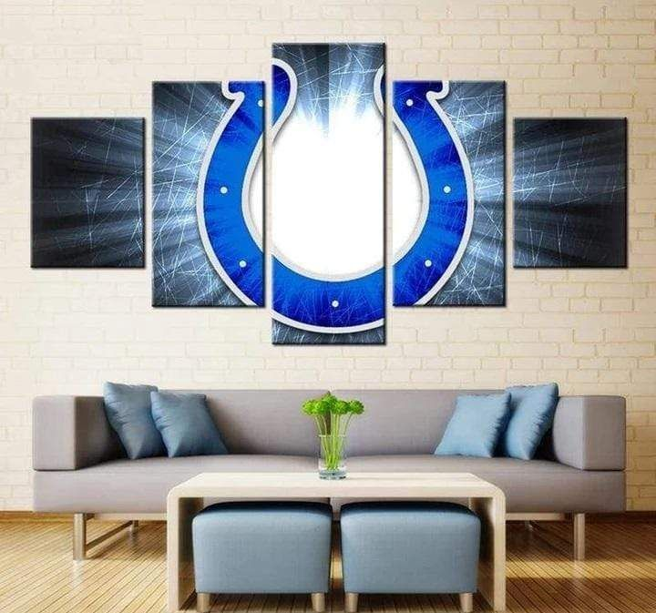 Indianapolis Colts Wall Art Painting Canvas Poster Print Home Decor – 22 x 40 Inch