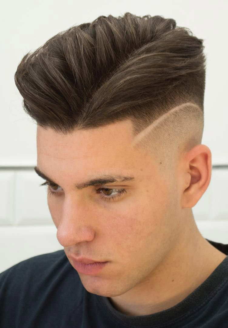 The side part menshairstyles mens hairstyles in pinterest