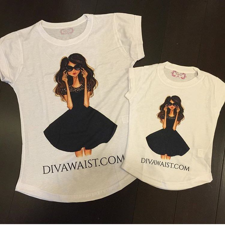 """DivaWaist.com #NewWaistNewYou on Instagram: """"OMG! These shirts are way TOO CUTE! I just ordered these for my daughter and I to wear! This boutique has so many mom/daughter matching options! Check them out! @ourfashionboutique1 www.ourfashionboutique.com   #kidsfashion #JustHadABaby #NewMom #NewBaby #NewInfant #Infant #Stroller #PostBaby #PostPartum #LifeAfterBaby #progress #results #notimpossible #change #StartNow #NewLife #NewStart #InvestInYourself #LifeWithKids #LifeWithBaby #baby"""