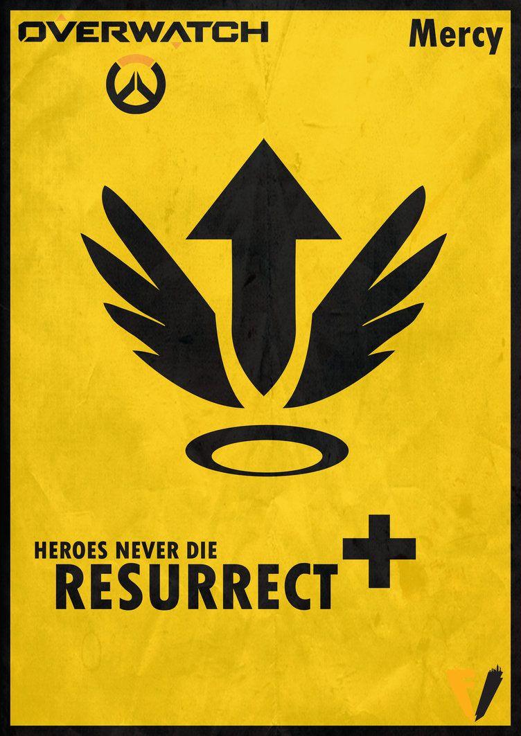 Overwatch Mercy - Resurrect by FALLENV3GAS on DeviantArt ...