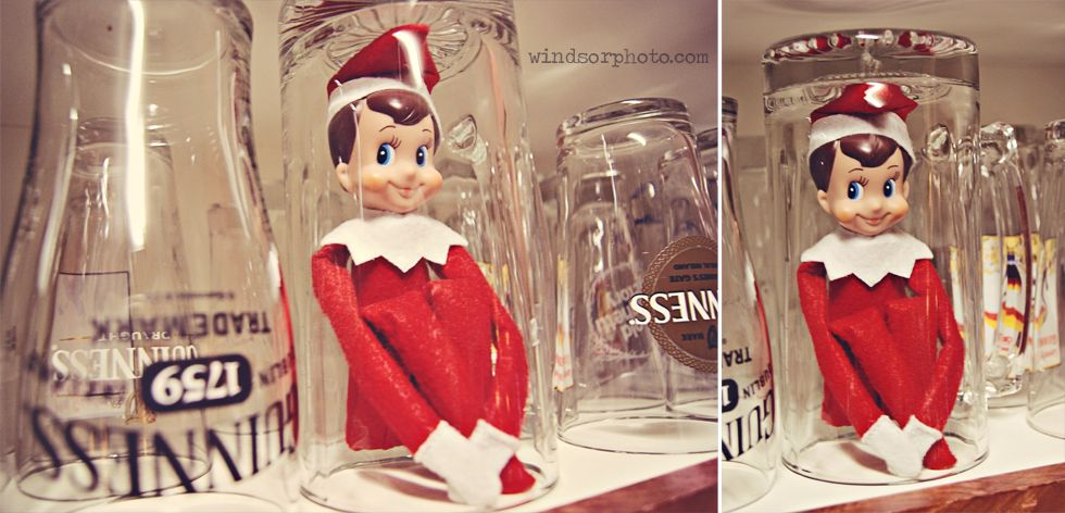 Elf on the Shelf Christmas   Windsor Photography   www.windsorphoto.com