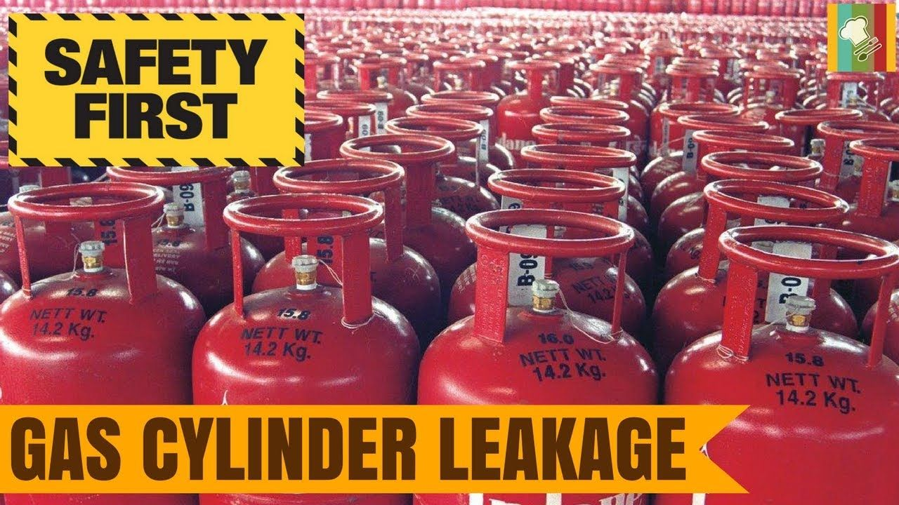 Gas Cylinder Leakage Gas Cylinder Precautions Gas