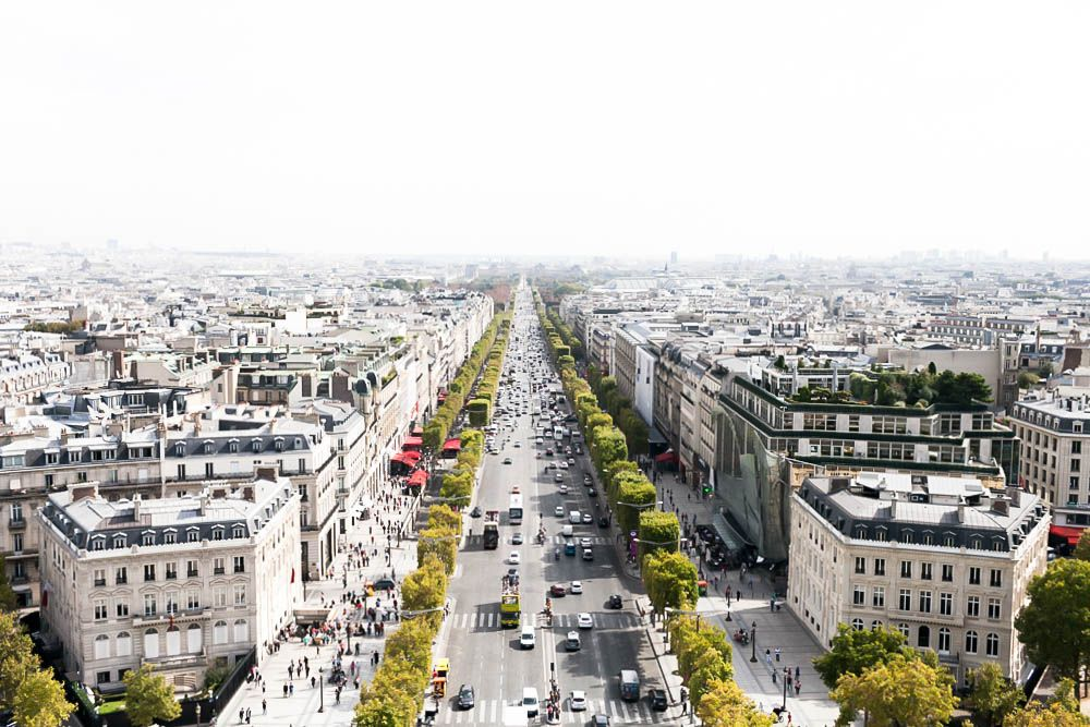 Arc De Trimophe, Paris, September 2014 | https://www.instagram.com/tuyetkelly/