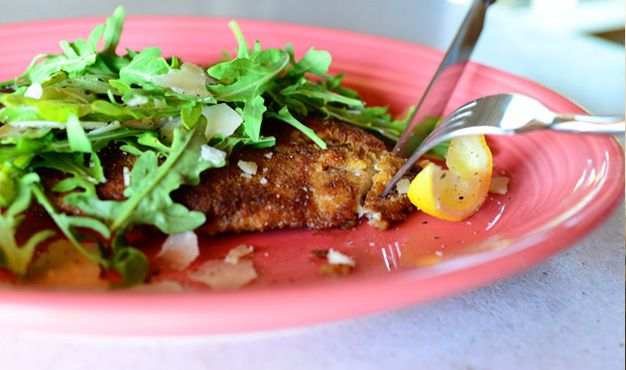 The Pioneer Woman | Easy Chicken Milanese Recipe - Oh so yummy looking!  I love every ingredient!