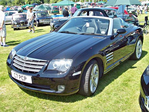 548 Chrysler Crossfire Srt 6 Convertible 2003 07 Chrysler