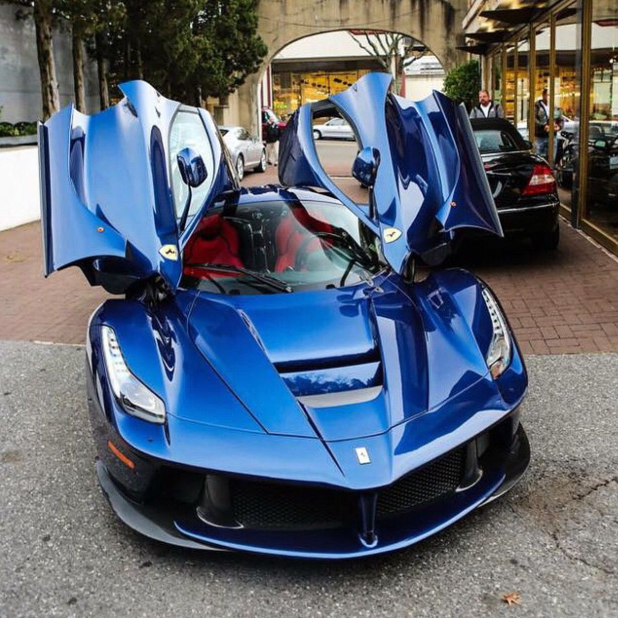 Best 30 Luxury Porsche Sport Cars Collections: Ferrari LaFerrari Painted In Blu Tour De France Photo