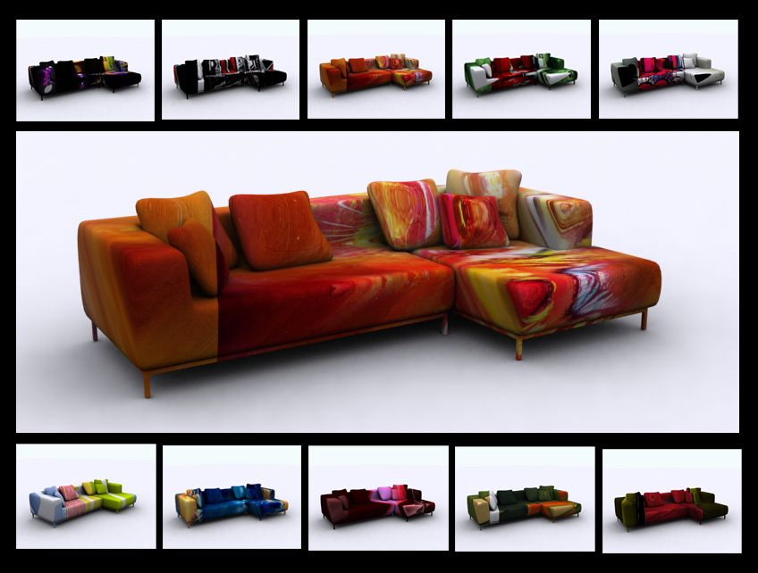 Funky Furniture, Sofas, Room Ideas