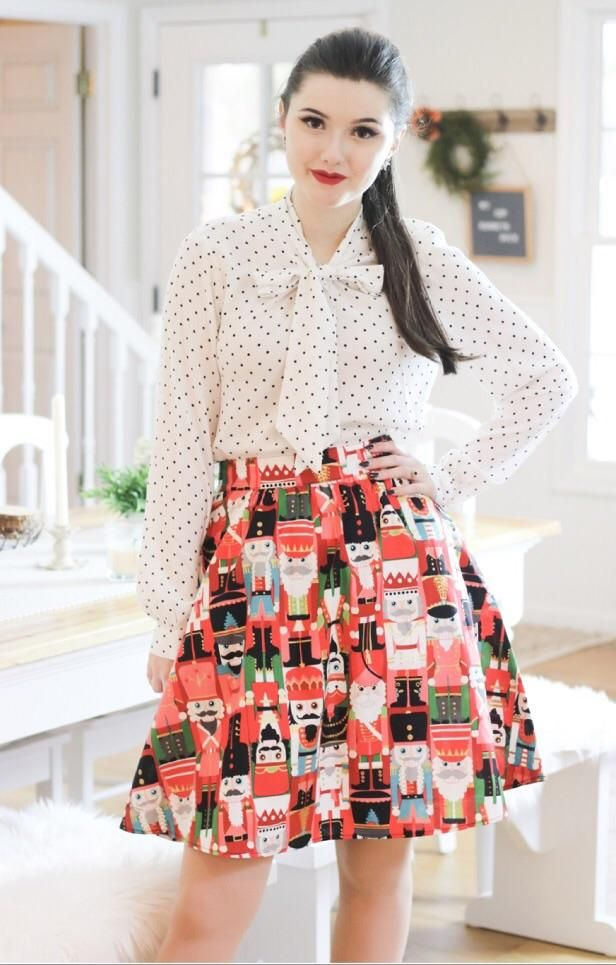978f72ffdfb Toy Soldier A-line Skirt by Retrolicious | Products | Skirts, A line ...