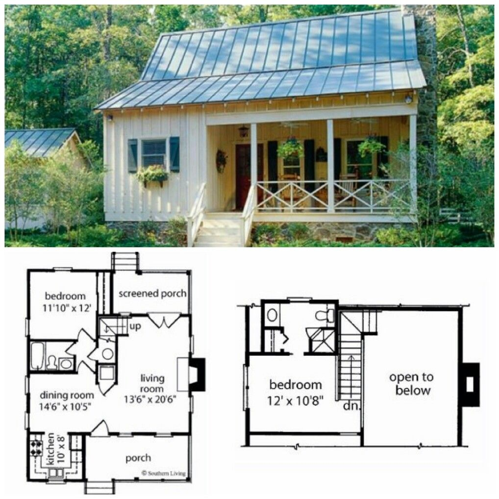 Pin by Amber Cline on homestead | Cottage house plans, Cottage plan, Small  house