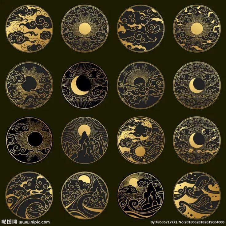 These would be nice in goldwork. - #flow #goldwork... - #ecke #flow #goldwork #n... #moneyaesthetic