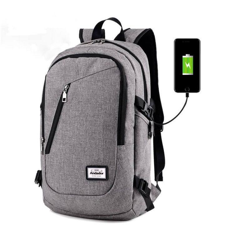 Women Men Business Messager Bags Black Travel Racksacks Unisex Laptop Backpack