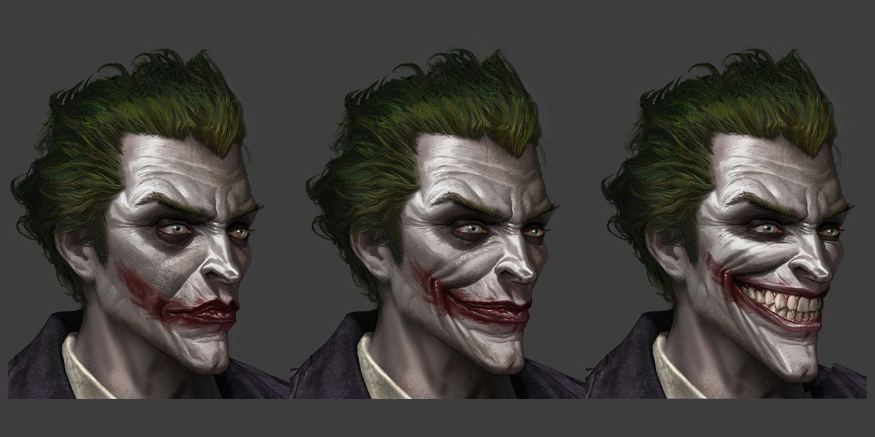 Joker paintover from batman arkham origins batman universe joker paintover from batman arkham origins voltagebd Image collections