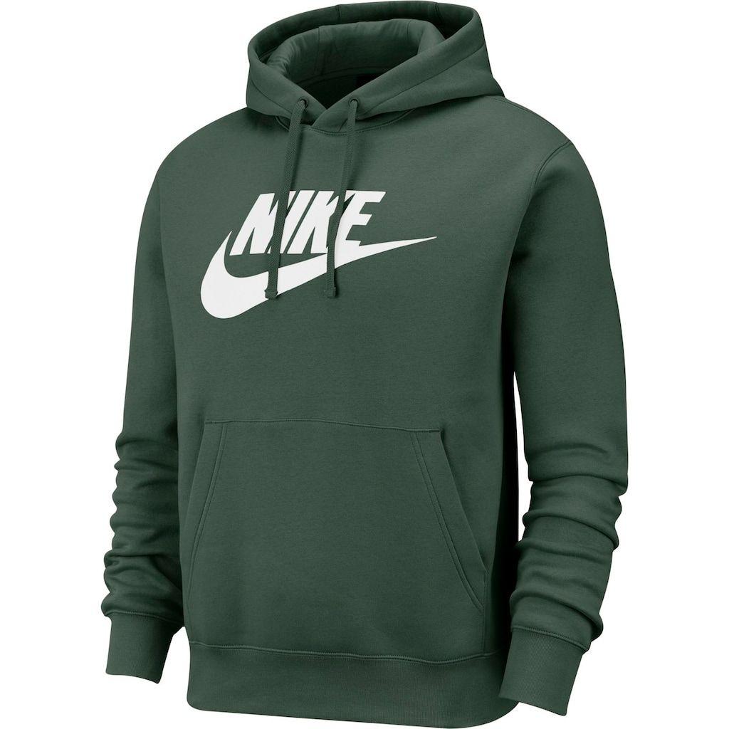 Men S Nike Sportswear Club Logo Pullover Hoodie Nike Pullover Hoodies Men Pullover Nike Sportswear [ 1024 x 1024 Pixel ]