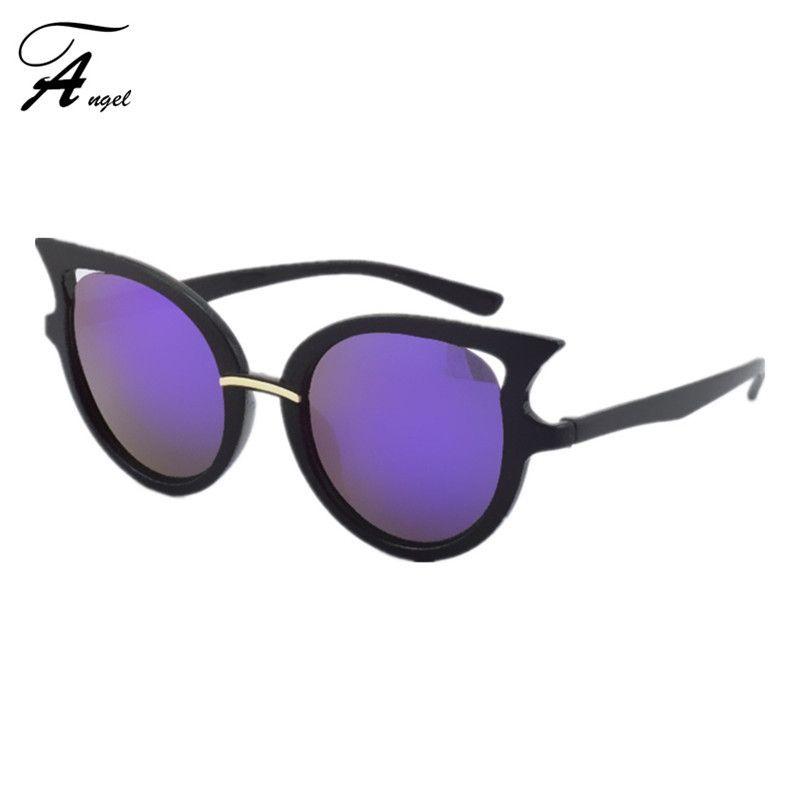 Encontrar Más Gafas de Sol Información acerca de Cat eye Sunglasses Hollow Vintage más nuevas mujeres diseñador de la marca de moda para mujer baratos gafas de sol para ir de compras 16 colores, alta calidad bolso del refrigerador, China bolsa de marihuana Proveedores, barato gafas de enlace de Angel&Co Trade Co,Ltd en Aliexpress.com