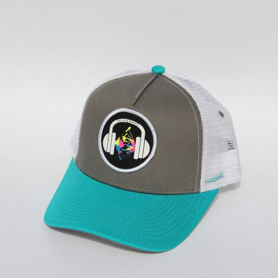 Kid   Toddler Teal trucker hat 2ccb4ec4709