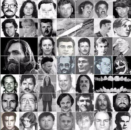 The Serial Killers Monsters Hidden Behind A Human Appearance - Map of serial killers are active in the us