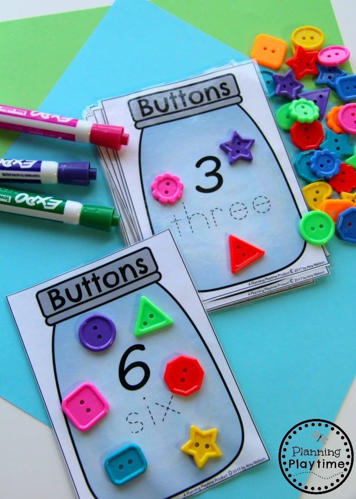 Number Worksheets Kindergarten math, Numbers preschool