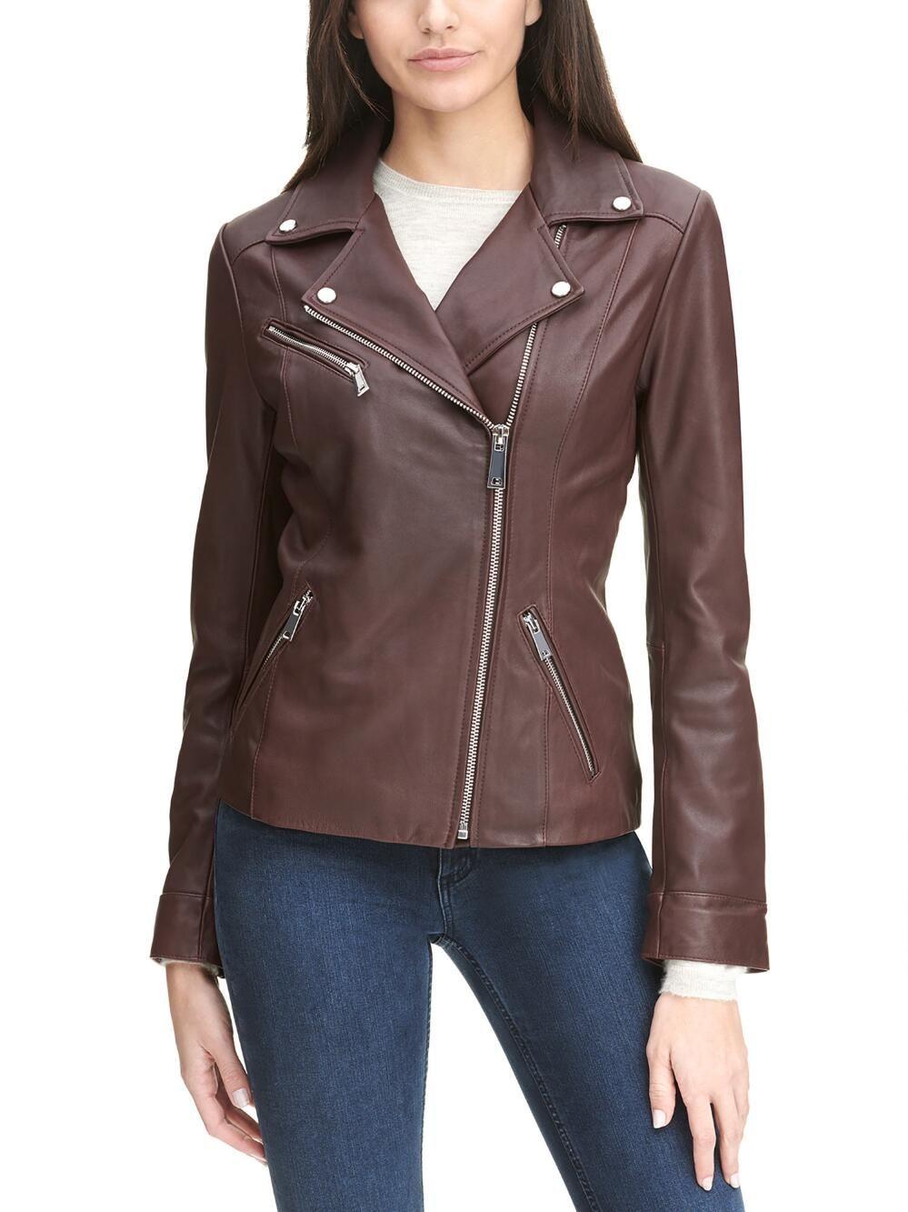Monica Asymmetrical Leather Jacket Wilsons Leather Asymmetrical Leather Jacket Leather Jacket Zipped Leather Jacket [ 1333 x 999 Pixel ]