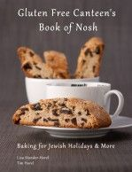 The Book of Nosh, your source for gluten free holiday regulars.  Every bit as good as you remember.