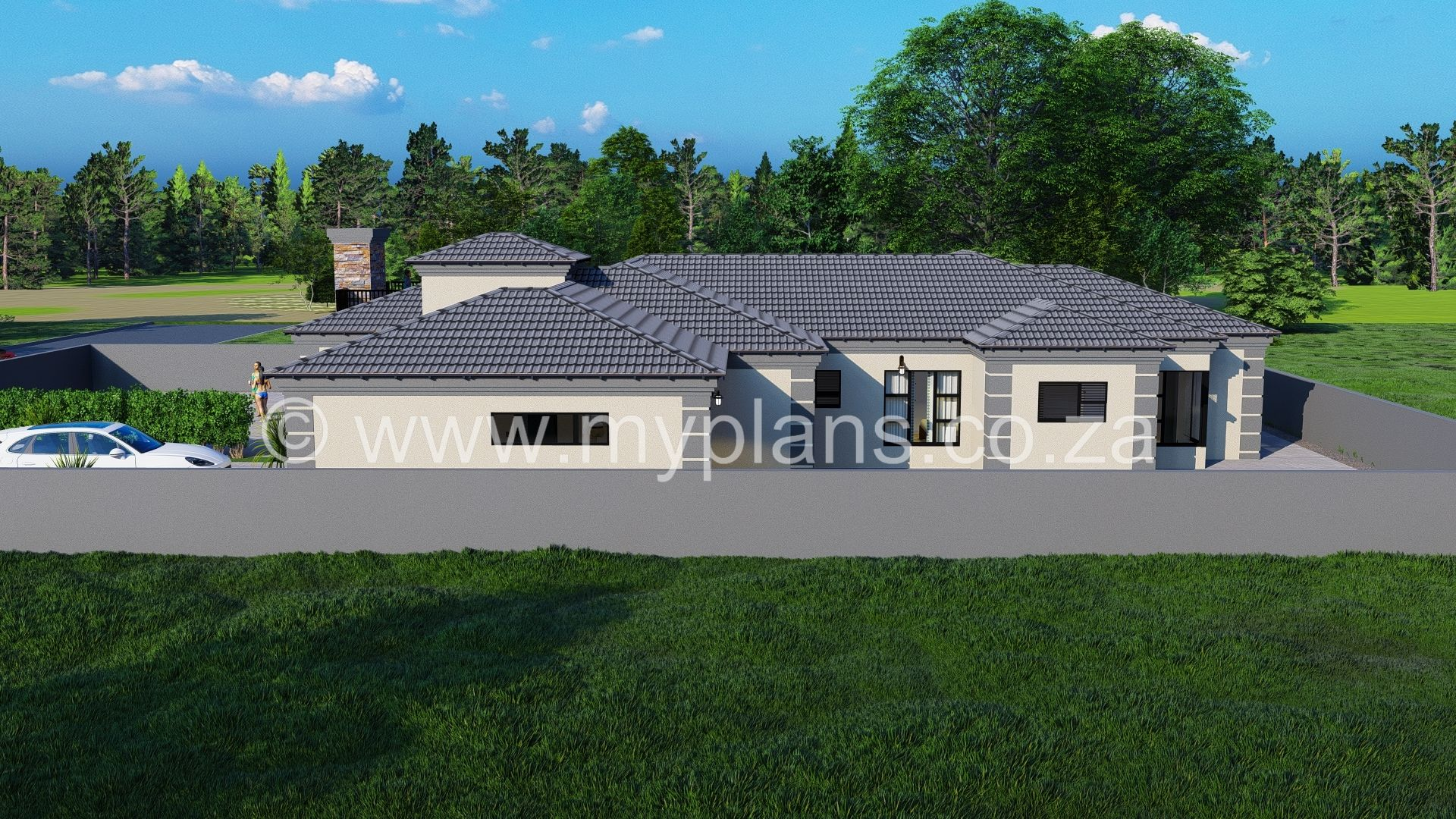 4 Bedroom House Plan Bla 021 10s Tuscan House Plans House Plan Gallery My House Plans