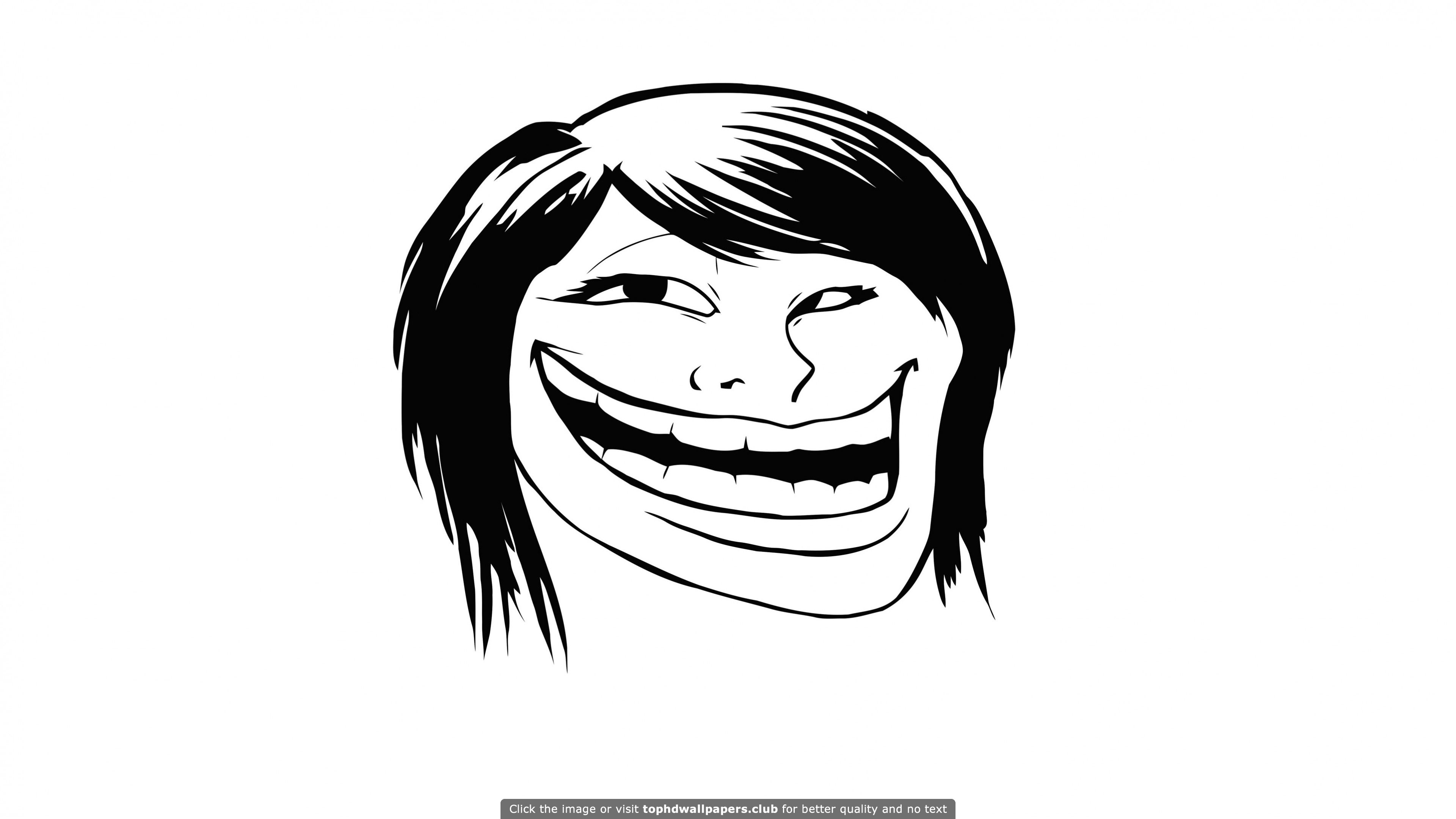 Female troll face meme hd wallpaper for your pc mac or mobile female troll face meme hd wallpaper for your pc mac or mobile device voltagebd Gallery