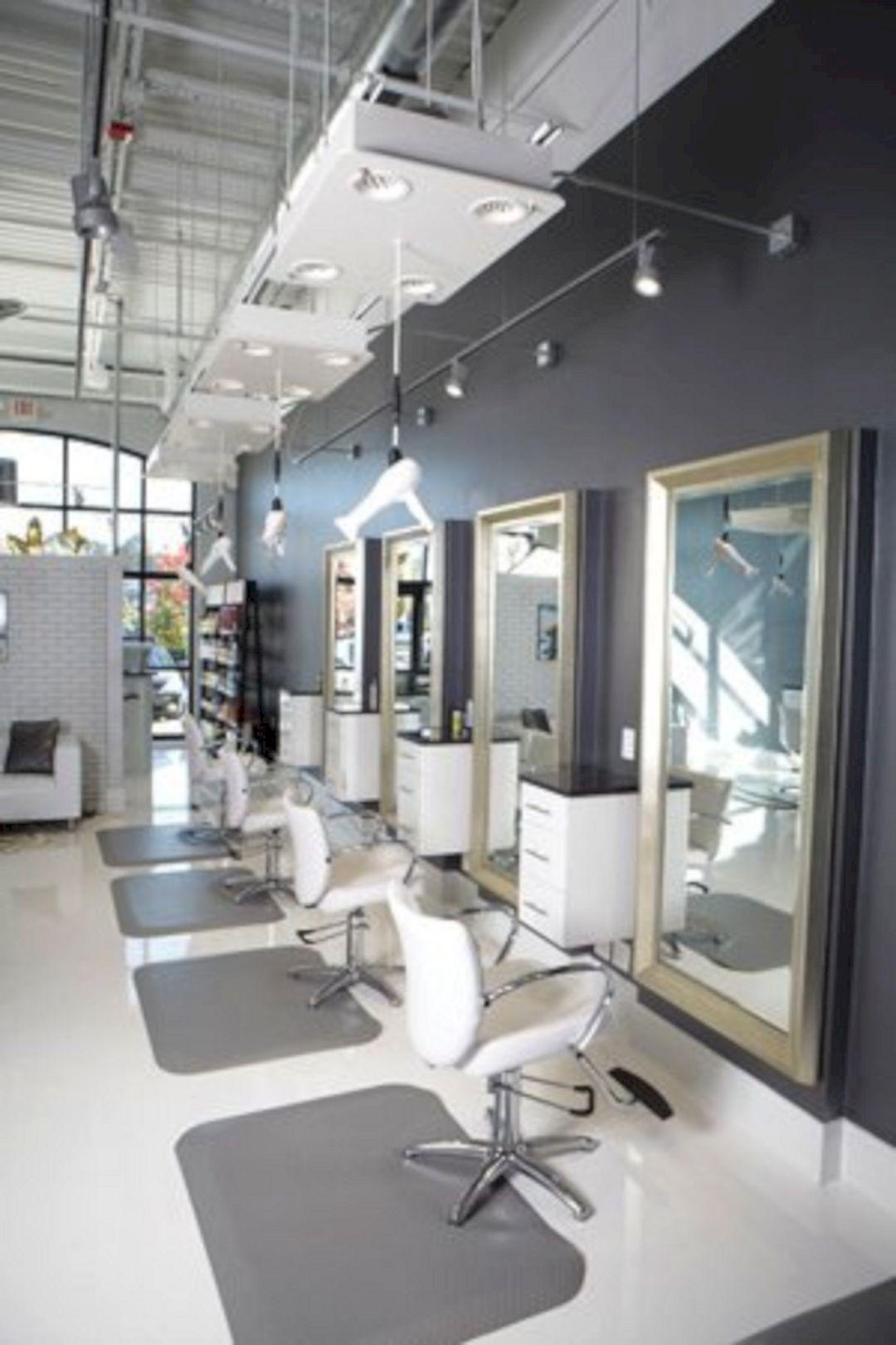Best Home Salon Decor Ideas For Private Salon On Your Home In 2020 Salon Interior Design Home Hair Salons Salon Furniture