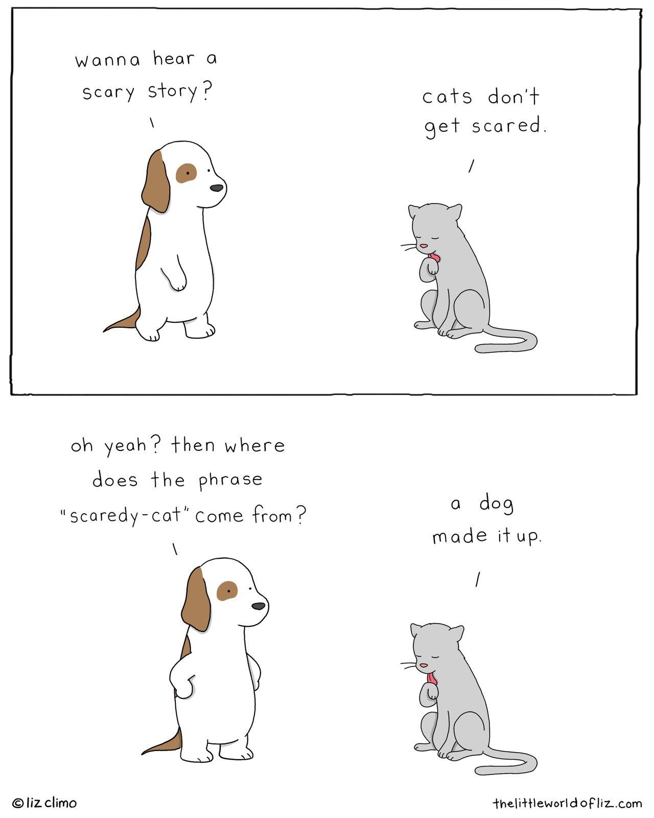Hi I M Liz Funny Animal Comics Cute Cartoon Drawings Funny Drawings