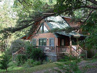 Asheville Cabin Rental Pet Friendly Log Cabin With Hot Tub
