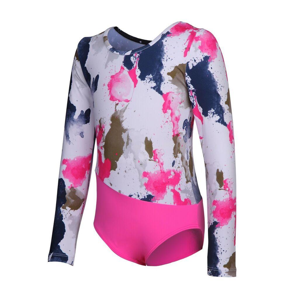 6f0557f6dba1 Girls Ballet Leotard Dance Gymnastics Dress Ballet Skirt  fashion ...