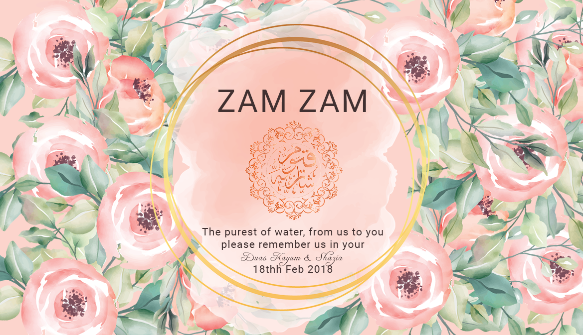 Personalised Red White Roses Wedding Party Thank You Stickers Labels Zam Zam