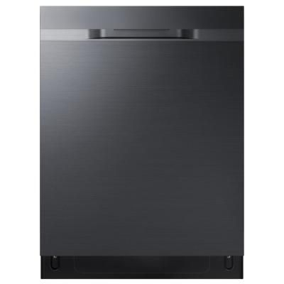 Samsung 24 In Top Control Stormwash Tall Tub Dishwasher In Fingerprint Resistant Black Stainless With Autorelease