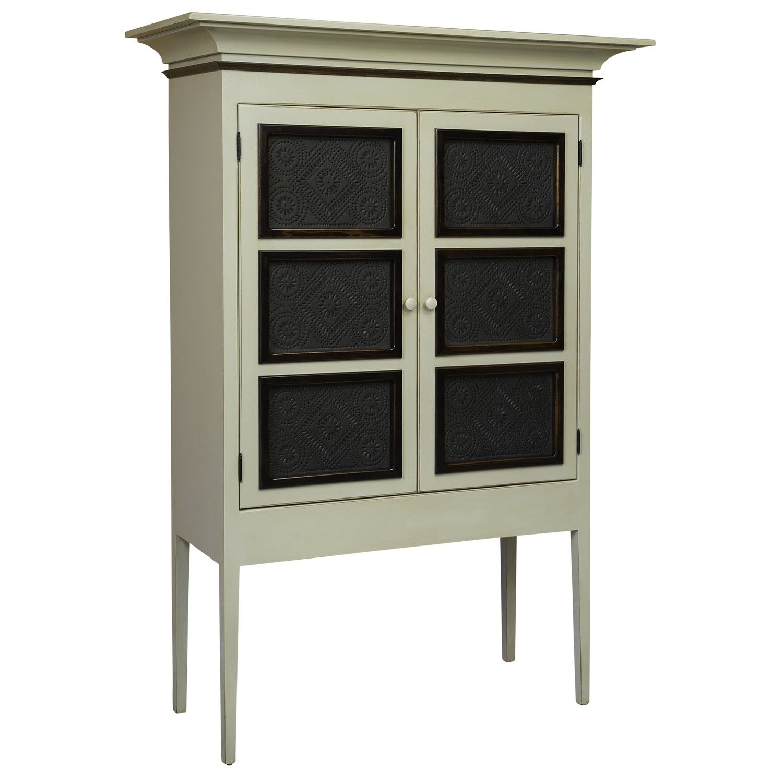 $2k dCOR design Margies Pie Safe Storage Cabinet