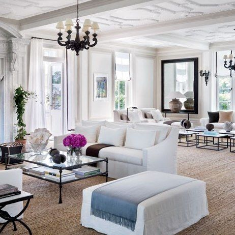 See How Vince Camuto Restored His Jazz Age Manor In The Hamptons Villa Maria Home Living Room Decor
