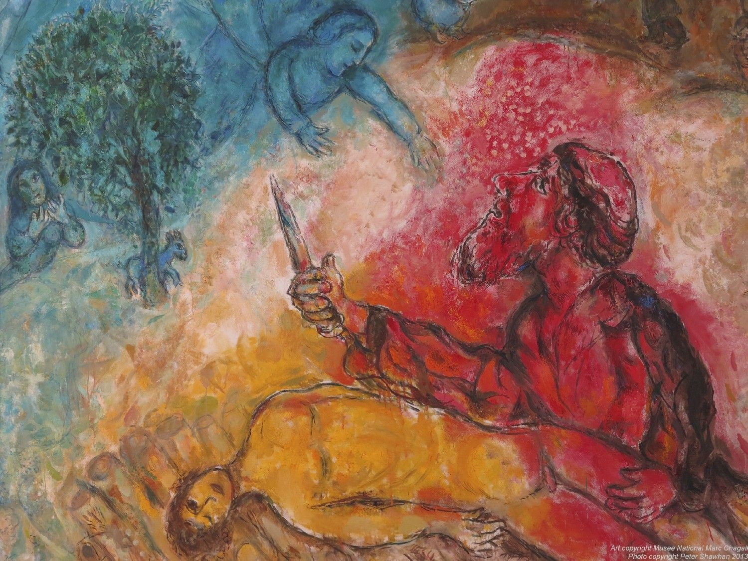 Image result for marc chagall blood""