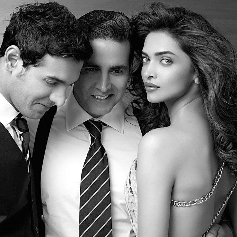 Deepika Padukone, Akshay Kumar, and John Abraham (Filmfare ...