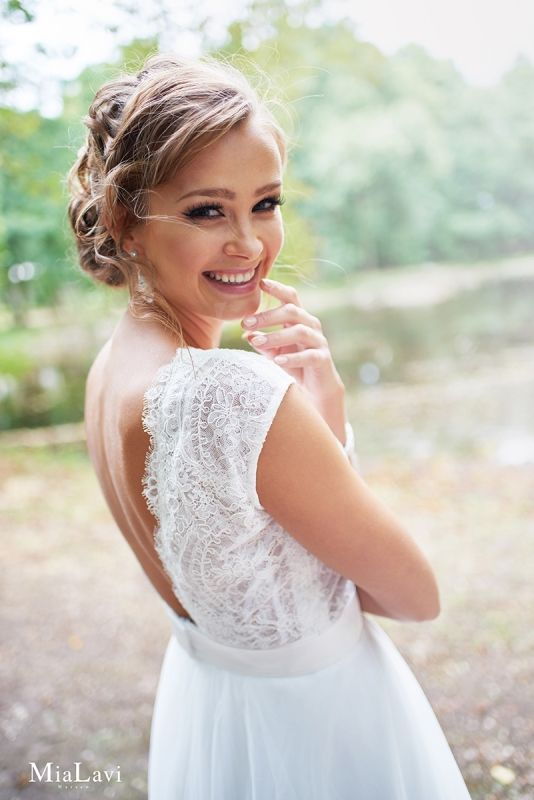 Mia Lavi Suknia Slubna Model 1607 Flower Girl Dresses Bride Wedding Dresses