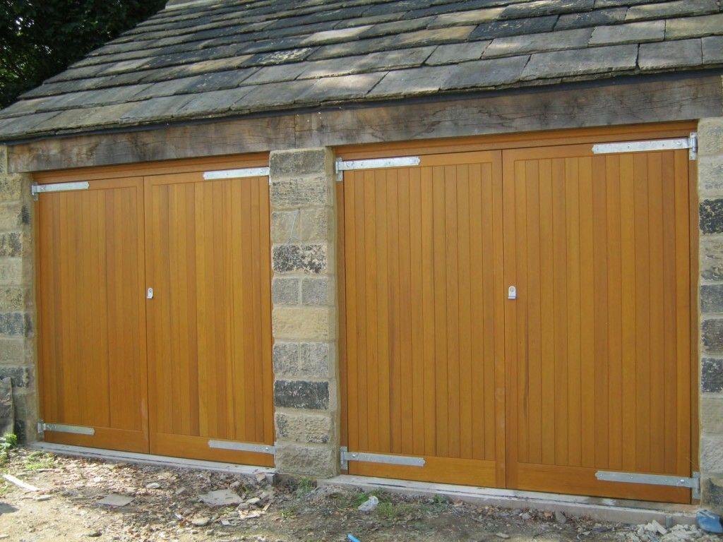 Side Hinged Wooden Garage Doors | http://voteno123.com | Pinterest ...