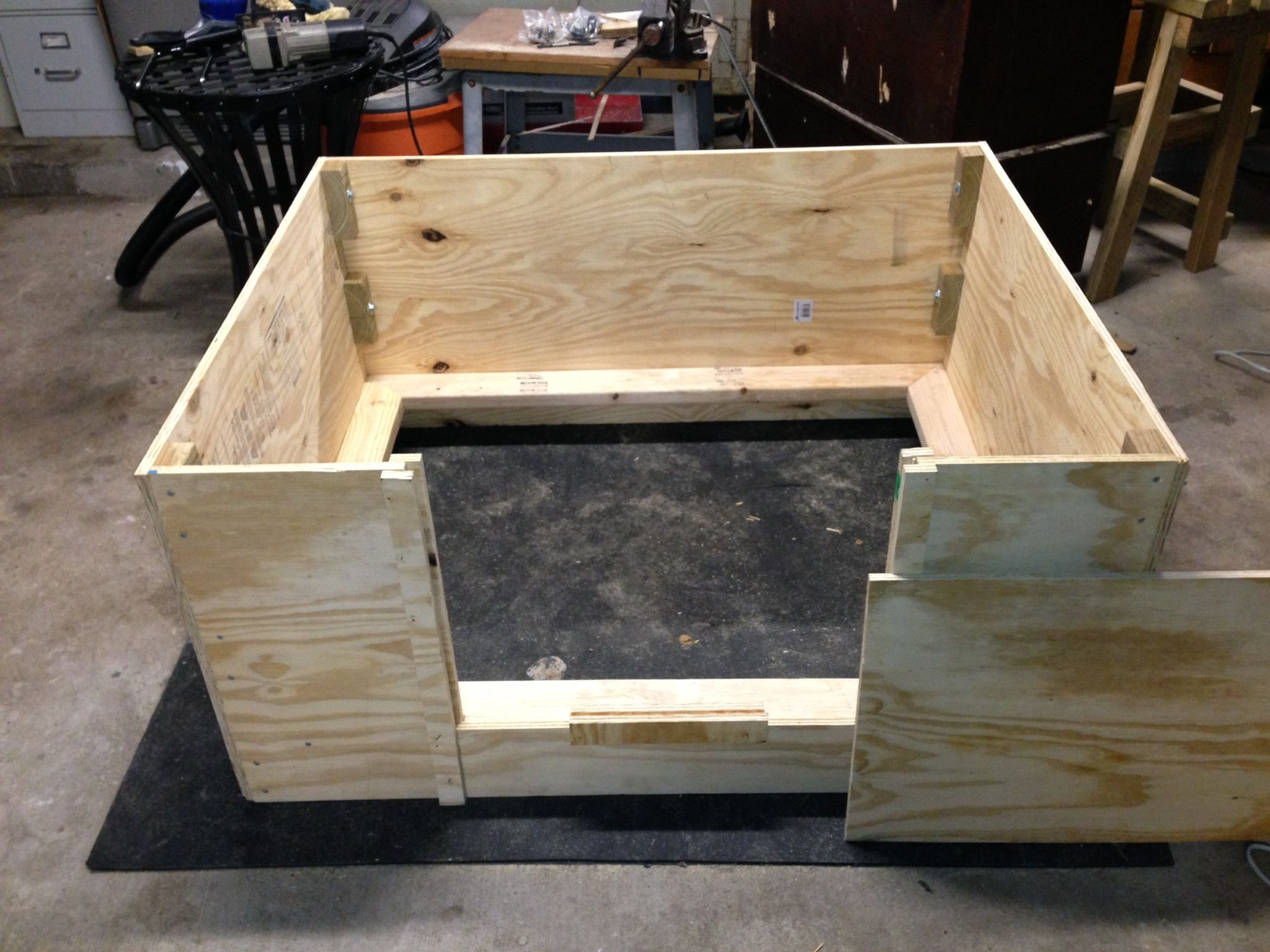 Modular Whelping Box Can Fit In Your Trunk Or Easy Storage Diy