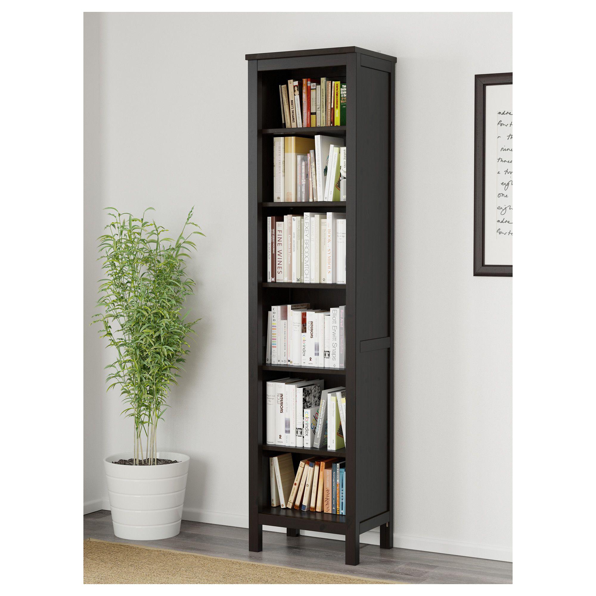 IKEA HEMNES bookcase Solid wood has a natural feel 1 fixed shelf