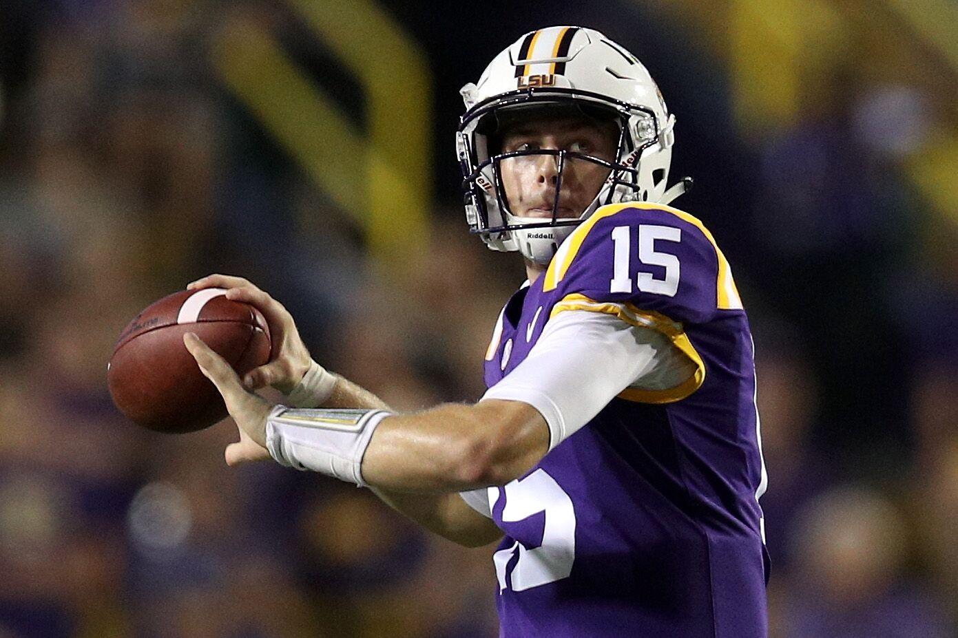 Lsu Football Will Be Relying On Quarterback Myles Brennan To Run The Offense In 2020 No One Should Envy Quarterback Myles Brennan T In 2020 Lsu Football Lsu Football