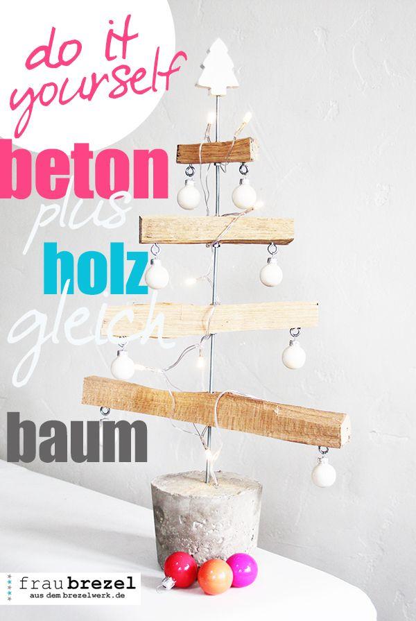 betonplusholzgleichbaum weihnachten adventskalender und. Black Bedroom Furniture Sets. Home Design Ideas