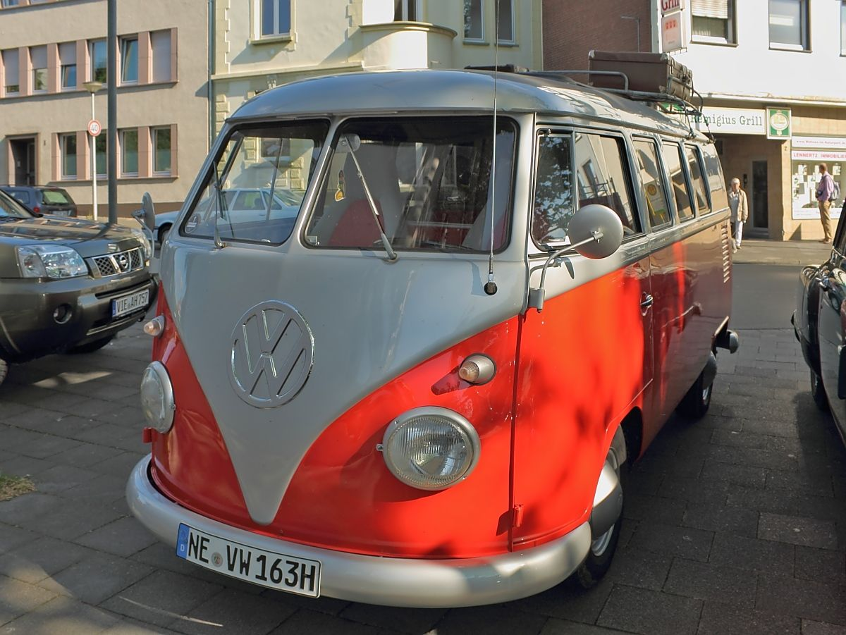 Vw bulli bus germany