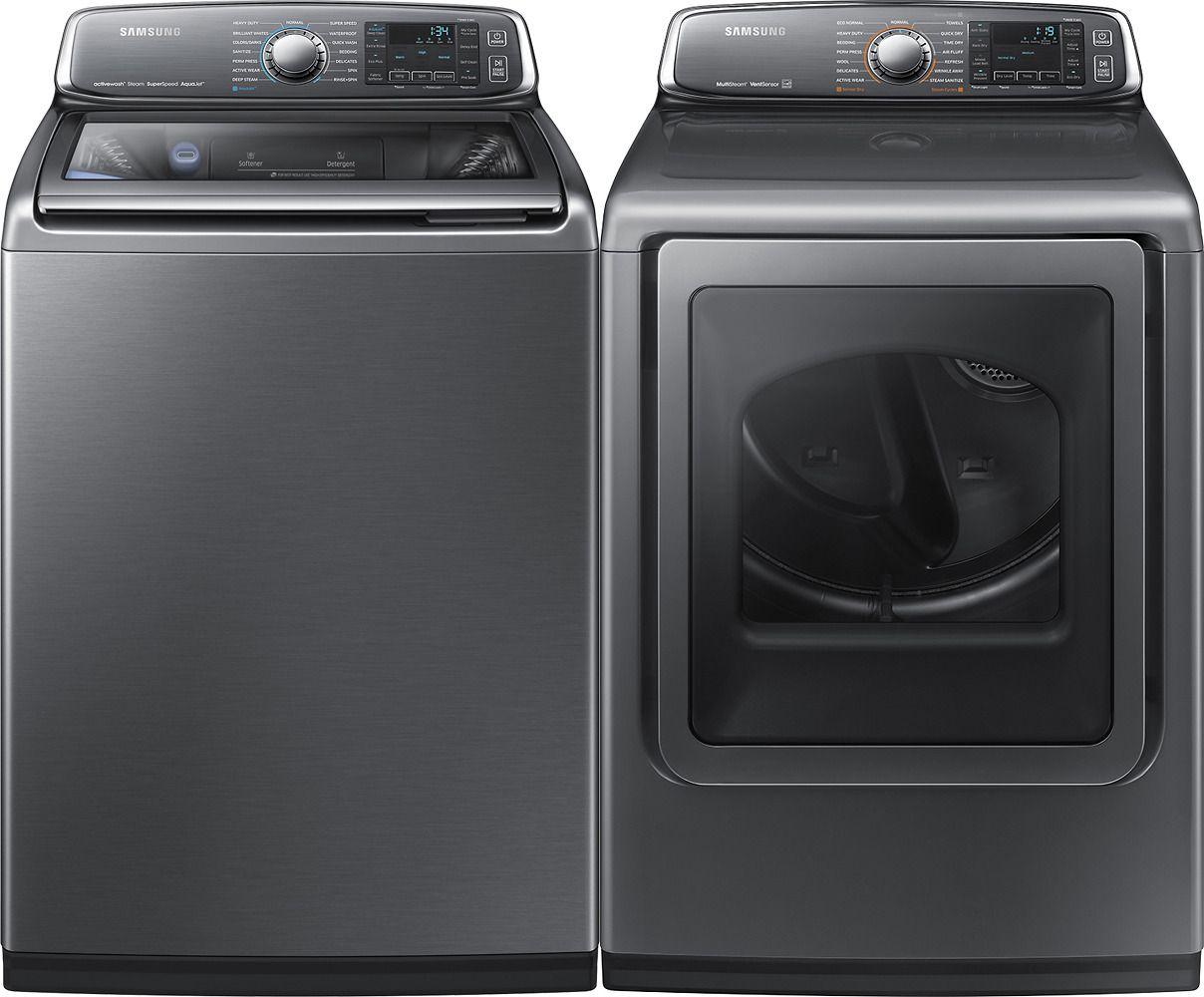 Top Ten Best Quiet Washing Machines 2017 Samsung Washer And Dryer Review  From Best Buy,