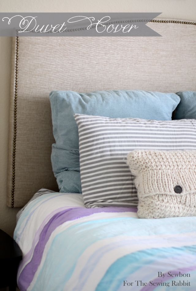 How To Sew And Paint Your Own Duvet Cover Duvet Covers Duvet Cover Diy Diy Quilt