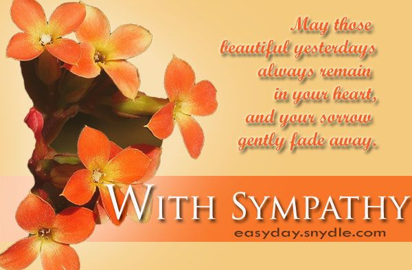 Sympathy Card Messages For Loss Of Loved Ones  Messages Sympathy