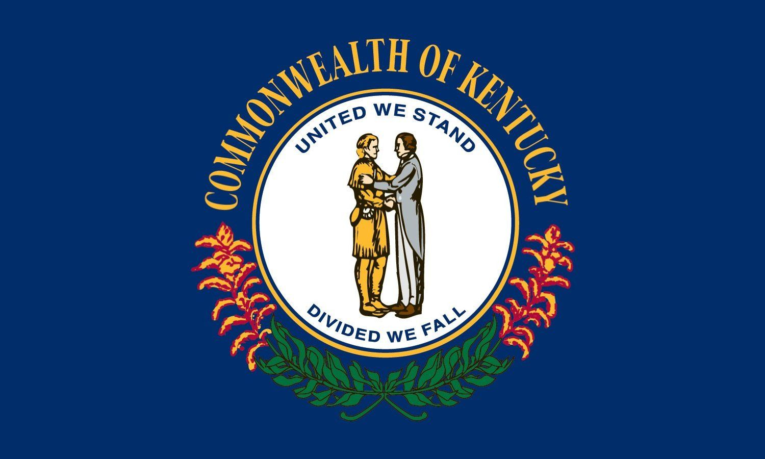 Kentucky State Flag Coloring Pages | Kentucky | Pinterest | Kentucky ...