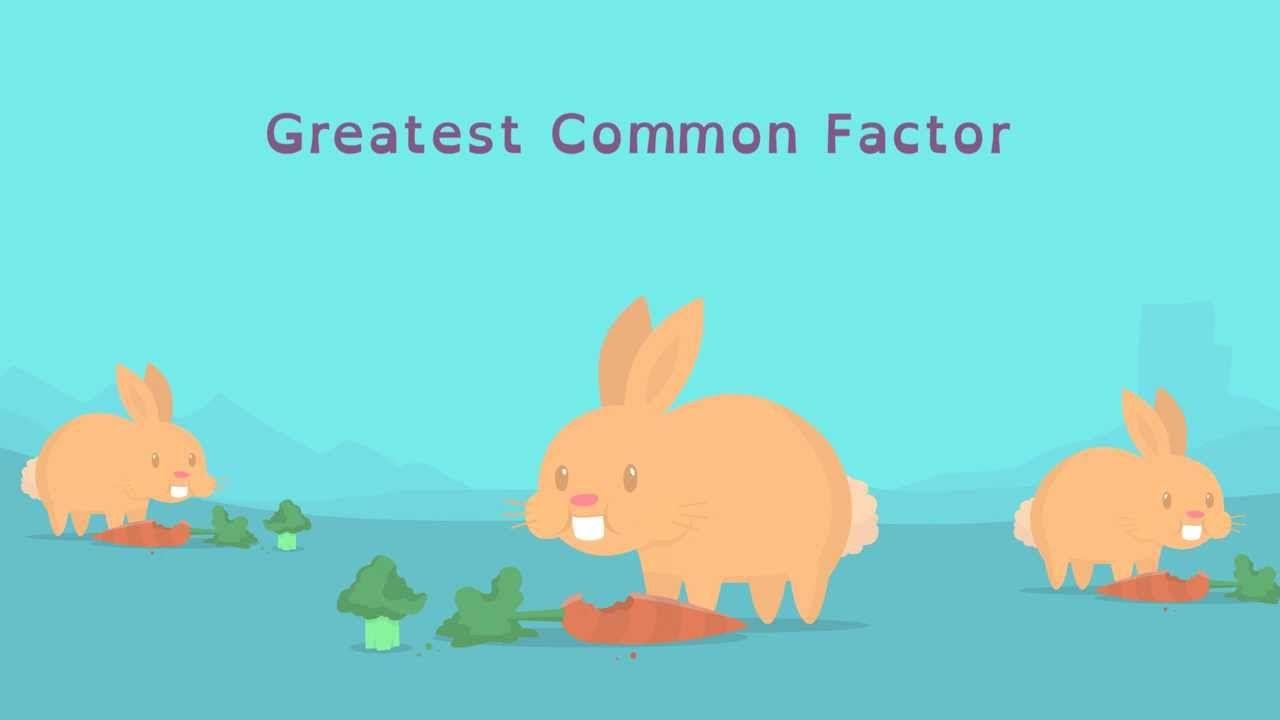 Math Shorts Episode 5 - Greatest Common Factor | math | Pinterest ...