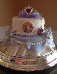 Princess Sofia Cake Jessica word 4 Pinterest Princess sofia cake