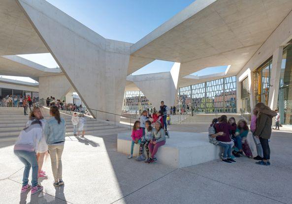 Architektur als Botschafter Deutsche Schule Madrid von