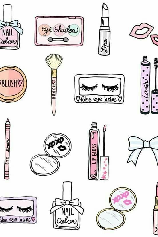 Makeup Drawing Easy
